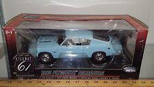 1/18 HIGHWAY 61 1968 PLYMOUTH BARRACUDA POWDER BLUE rd
