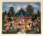 """Jane Wooster Scott Signed & Numbered L/ED Lithograph """" Clowning Around """""""