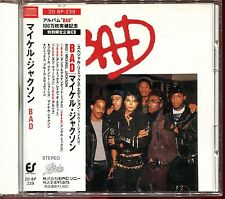 MICHAEL JACKSON - BAD - JAPAN CD MAXI [1502]