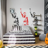 Freddie Mercury Stencil Portrait Paint Walls Fabrics Canvas Art Reusable Decor