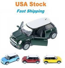 Mini Cooper S Hard Top, Kinsmart, Diecast Model Toy Car, 4 Colors,  5'', 1:28
