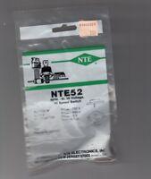 NTE ELECTRONICS NTE52 BIPOLAR TRANSISTOR  - NOS