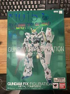 Bandai Fix Figuration Metal Composite Unicorn Gundam Final Battle Action Figure