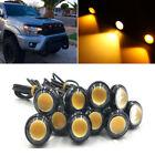 10X Amber LED Grille Running Eagle Eye Lamp Kit For Toyota FJ Cruiser Tacoma etc