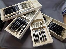 Noble Laguiole Cutlery Tray/Cutlery Set - 24 Pieces NEW IN WOODEN BOX - 268779