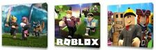 Roblox Kids canvas wall art plaque pictures set of three pack 2