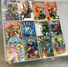 Showcase 93 1-12 Complete Set DC Comics 1993 (SC01) Flash Batman Catwoman