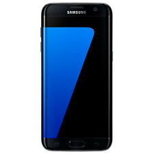 "Samsung Galaxy S7 Edge Phone Android 5.5"" 4G LTE 32GB - Black Onyx (439985)"