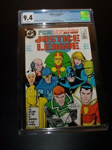 JUSTICE LEAGUE # 1 - CGC 9.4 - Wonder Woman 1987 Movie - 1ST MAXWELL LORD