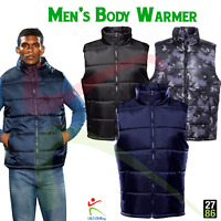 2786 Mens Quilted Bodywarmer Showerproof Gillet Warm Casual Outdoor Work Wear