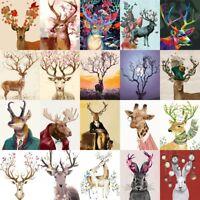 40*50CM All kinds of Deer Elk DIY Painting on Canvas Paint By Number kit Frame