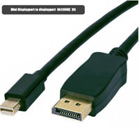Mini DisplayPort to Displayport  Adapter Cable 3ft 4k@60hz  for surface pro
