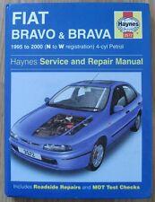 haynes fiat bravo & brava 4cyl petrol workshop manual 95-00 3572