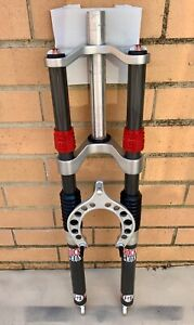 Specialized Rock Shox Judy FSX Carbon Yeti Dual Crown Shocks Excellent Condition