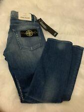Genuine Stone Island Junior Badged Jeans