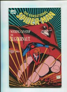 THE SENSATIONAL SPIDER-MAN (8.0) NOTHING CAN STOP THE JUGGERNAUT!! 1989