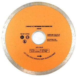 "115mm 41/2"" Angle Grinder Disc Diamond Dry-Wet Cutting Disc Porcelain Tile Turbo"