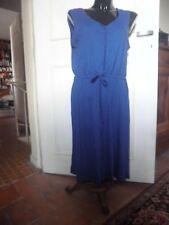 """Robe classique en jersey bleu """"ESMARA"""" 46/48. Modal/coton. Soldes:2 pour 1 VOIR."""