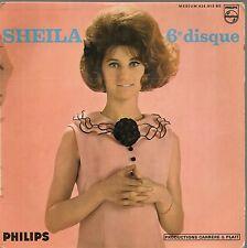 """EP 4 TITRES--SHEILA """"6e DISQUE""""--CHAQUE INSTANT DE CHAQUE JOUR / JE N'AI PAS..."""