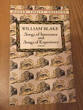 Songs of Innocence and Songs of Experience by William Blake (Paperback, 1992)