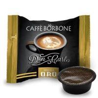 Caffè Borbone Gold 100 Kaffee Kapseln Don Carlo Kompatibel Lavazza a Modo mio
