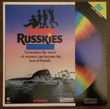 LASERDISC Movie: RUSSKIES - Whip, Leaf Phoenix, Peter Billingsley - Collectible