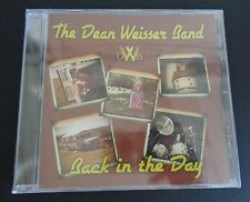 THE DEAN WEISSER BAND Back in the Day DWB Music CD Classic Rock NEW Free Ship