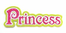 Princess Iron On Patch- Fairy Tale Royalty Badge Gift Embroidered Applique