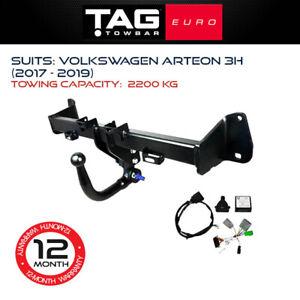 TAG Euro Towbar Fits Volkswagen Arteon 2017 - 2019 Towing Capacity 2200Kg 4x4