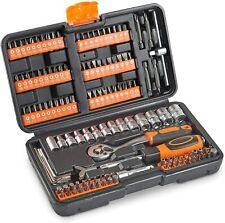 Coffret 130 accessoires et mèches VonHaus comprenant une clé à cliquet outils