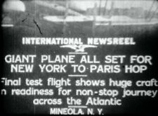 16mm aviation newsreel AIRPLANE CRASH