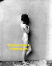 NORMA SHEARER 8x10 Lab Photo B&W Sexy Artful Pose Amazing 1920s Glamour Portrait