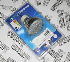 lampadina 38 led oliva 3W faretto luce calda GU10 lampada basso consumo