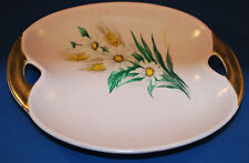 pink with Flowers Lord Nelson Pottery England Oval Hand Painted A Taylor