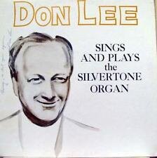 Don Lee - Sings & Plays The Silvertone Organ LP Mint- KB 3997 Record Signed