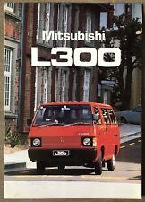 1980 Mitsubishi L300 original sales brochure