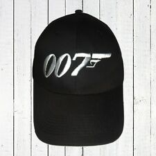 James Bond 007 Logo Embroidered Hat Movie Agent Sean Connery Roger Moore Cap