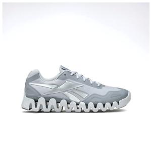 Reebok Unisex Zig Pulse Running Shoes Sneakers Grey GX5020 Size 4-12