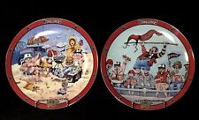 Set of Tampa Bay Buccaneers Collectible Plates by Gary Patterson