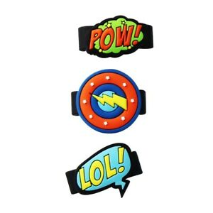 GizmoWatch Accessory Pins 3-Pack - Comic Book Style (X53CMB)