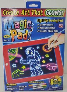 Magic Pad, Illuminating Screen for Drawing, Sketching and Creating