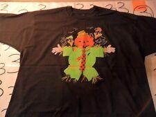 XL- NWOT Vintage Felt Screen Stars Felt Halloween T- Shirt