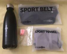 Lot Of 4 Aftershokz (Water Bottle Sport Belt Sweat Towel Earplug) Fitness Gear