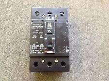 SQUARE D CIRCUIT BREAKER 150 AMP 240V 3 POLE KGL32150 CHIPPED