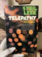 Telepathy The Respectable Phenomenon By Sybil Leek 1971 Occult Esp Psychic