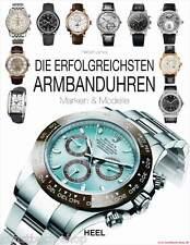 Fachbuch Die erfolgreichsten Armbanduhren, Lange & Söhne Blancpain Breitling NEU