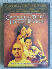 Crouching Tiger Hidden Dragon Dvd, New and Sealed, Free Shipping