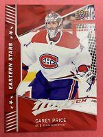 2018-19 Upper Deck MVP Eastern Stars #ES-5 Carey Price Montreal Canadiens