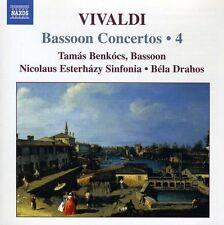 Tam s Benk cs, A. Vivaldi - Bassoon Concertos 4 [New CD]