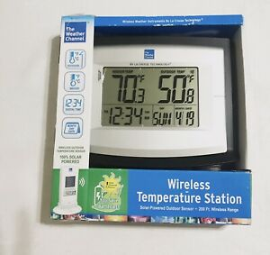 The Weather Channel WS-8500TWC-IT, Wireless Temperature Station Outdoor Sensor